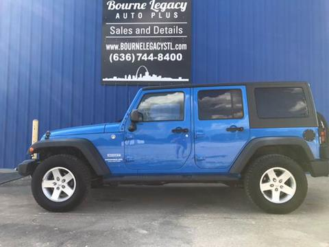 2011 Jeep Wrangler Unlimited for sale in Union, MO