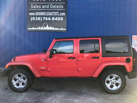 2013 Jeep Wrangler Unlimited for sale in Union, MO