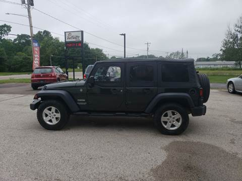 2010 Jeep Wrangler Unlimited for sale in Muskegon, MI
