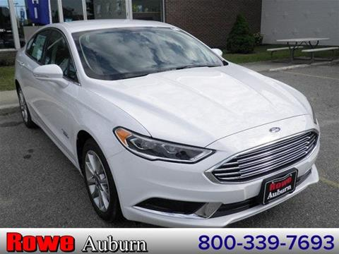 2018 Ford Fusion Energi for sale in Auburn, ME