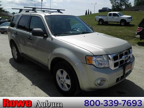2012 Ford Escape for sale in Auburn ME