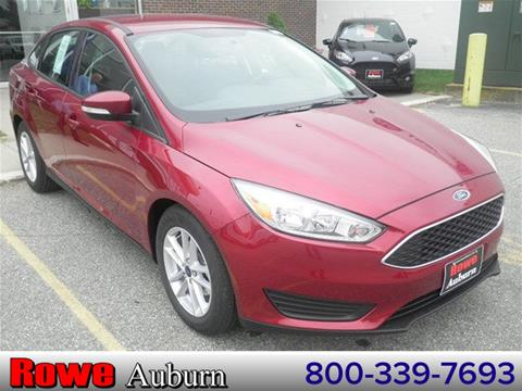 2017 Ford Focus for sale in Auburn ME