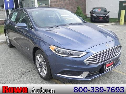 2018 Ford Fusion Energi for sale in Auburn ME