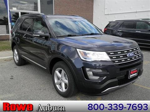 2017 Ford Explorer for sale in Auburn ME