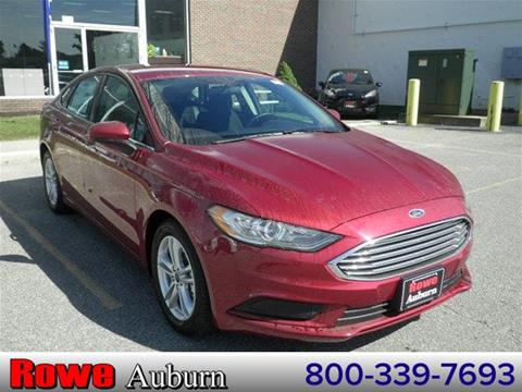 2018 Ford Fusion for sale in Auburn, ME
