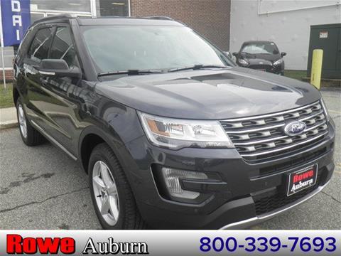 2017 Ford Explorer for sale in Auburn, ME