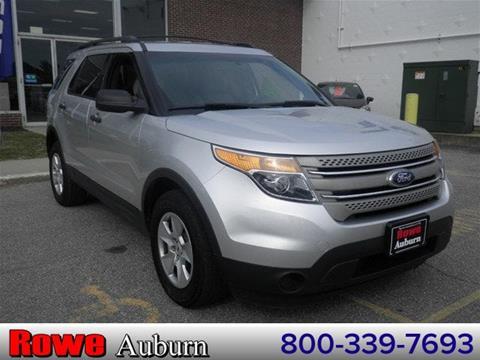 2013 Ford Explorer for sale in Auburn, ME