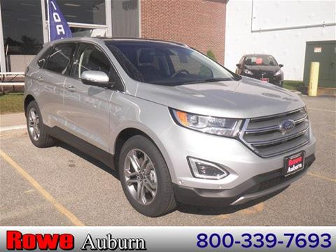2017 Ford Edge for sale in Auburn ME