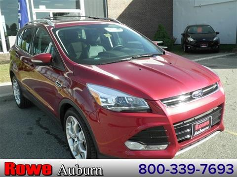 2014 Ford Escape for sale in Auburn ME