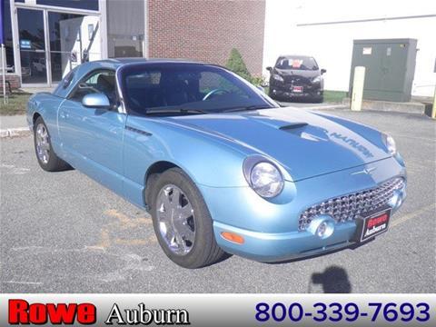2002 Ford Thunderbird for sale in Auburn ME