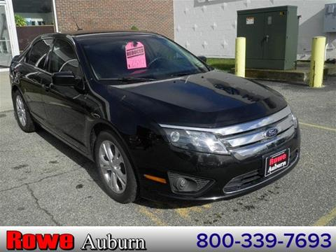 2012 Ford Fusion for sale in Auburn, ME