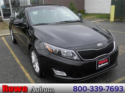 2014 Kia Optima for sale in Auburn ME