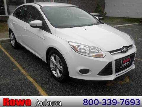2014 Ford Focus for sale in Auburn ME