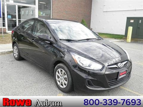 2012 Hyundai Accent for sale in Auburn ME