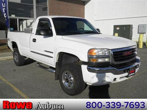 2006 GMC Sierra 2500HD for sale in Auburn ME