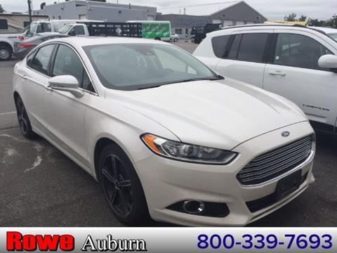 2015 Ford Fusion for sale in Auburn ME