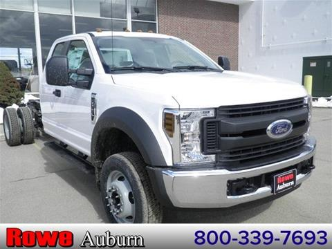 2018 Ford F-550 for sale in Auburn, ME