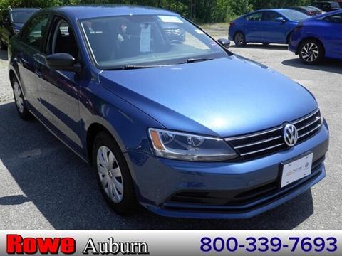 2016 Volkswagen Jetta for sale in Auburn, ME
