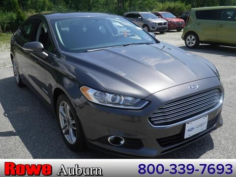 2016 Ford Fusion Hybrid for sale in Auburn, ME