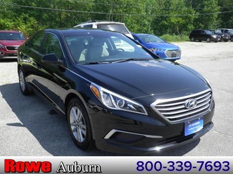 2017 Hyundai Sonata for sale in Auburn, ME
