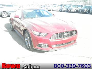2017 Ford Mustang for sale in Auburn, ME