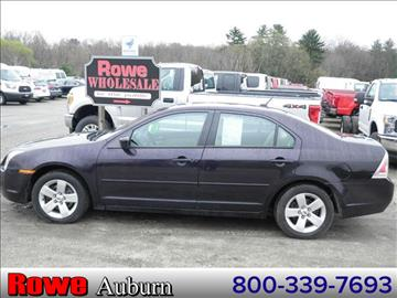 2007 Ford Fusion for sale in Auburn, ME
