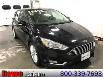 2016 Ford Focus for sale in Auburn, ME
