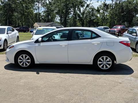 2014 Toyota Corolla for sale in Chipley, FL