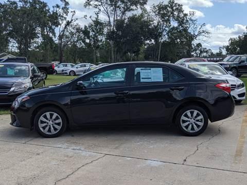 2016 Toyota Corolla for sale in Chipley, FL