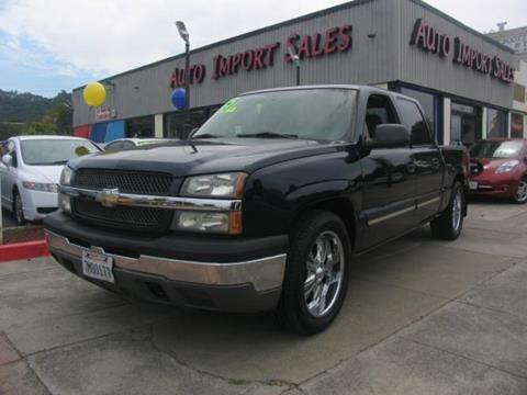 2005 Chevrolet Silverado 1500 for sale in El Cerrito, CA