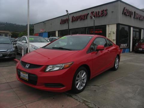 2012 Honda Civic for sale in El Cerrito, CA