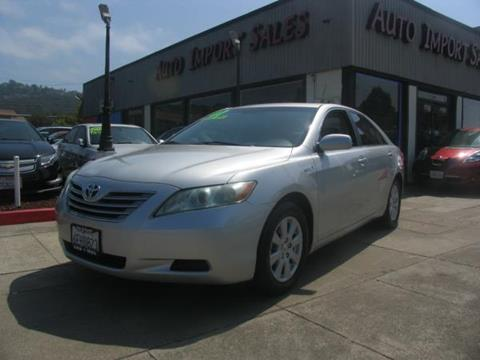 2009 Toyota Camry Hybrid for sale in El Cerrito, CA