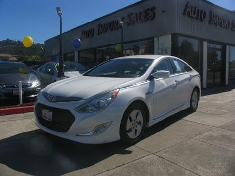 2012 Hyundai Sonata Hybrid for sale in El Cerrito, CA
