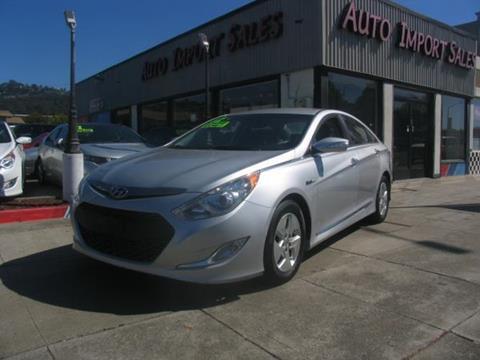 2012 Hyundai Sonata Hybrid for sale in El Cerrito, CA
