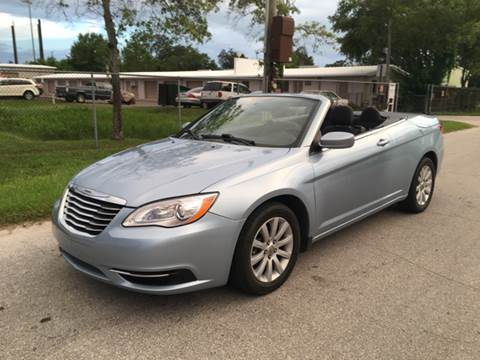 2012 Chrysler 200 Convertible for sale in Largo, FL