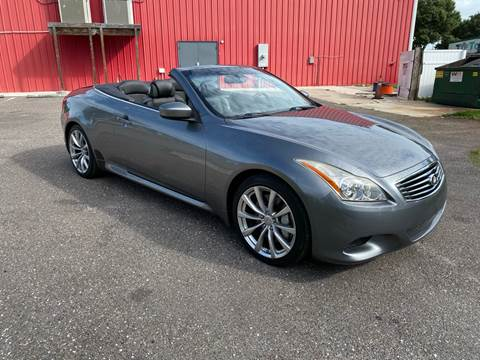 2010 Infiniti G37 Convertible for sale in Largo, FL