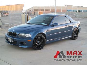 2002 BMW M3 for sale in Honolulu, HI