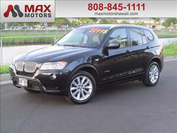 2013 BMW X3 for sale in Honolulu, HI