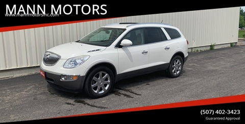 2009 Buick Enclave for sale at MANN MOTORS in Albert Lea MN