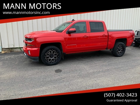 2016 Chevrolet Silverado 1500 for sale at MANN MOTORS in Albert Lea MN