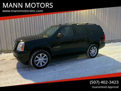 2008 GMC Yukon for sale at MANN MOTORS in Albert Lea MN