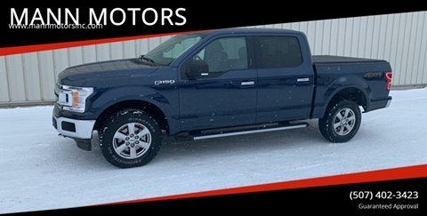 2018 Ford F-150 for sale at MANN MOTORS in Albert Lea MN