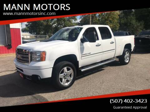2012 GMC Sierra 2500HD for sale at MANN MOTORS in Albert Lea MN