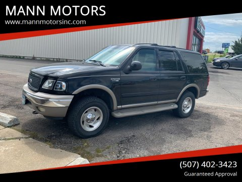 2002 Ford Expedition for sale at MANN MOTORS in Albert Lea MN