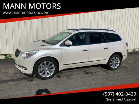 2013 Buick Enclave for sale at MANN MOTORS in Albert Lea MN
