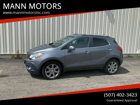 2013 Buick Encore for sale at MANN MOTORS in Albert Lea MN