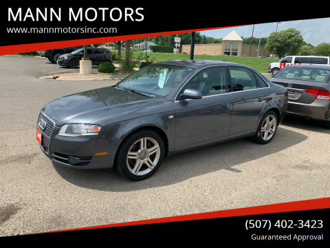 2006 Audi A4 for sale at MANN MOTORS in Albert Lea MN