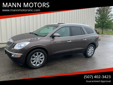 2012 Buick Enclave for sale at MANN MOTORS in Albert Lea MN