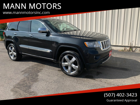 2011 Jeep Grand Cherokee for sale at MANN MOTORS in Albert Lea MN