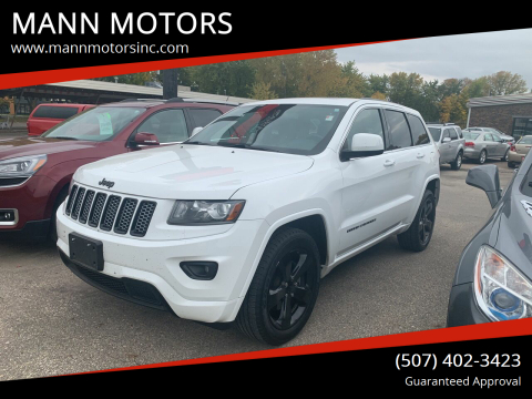 2014 Jeep Grand Cherokee for sale at MANN MOTORS in Albert Lea MN